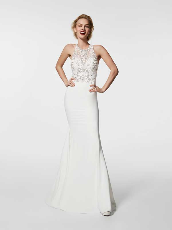 Marian Gale Wedding Dress Grael White B