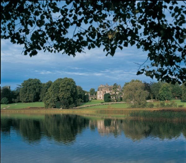 Castle Leslie Estate Iconic View