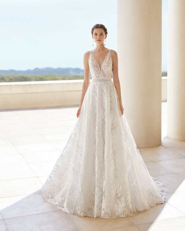'Sanso' Wedding Dress by Rosa Couture